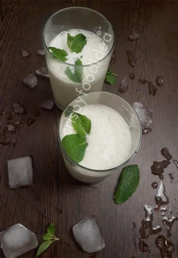 Mint Lassi Recipe