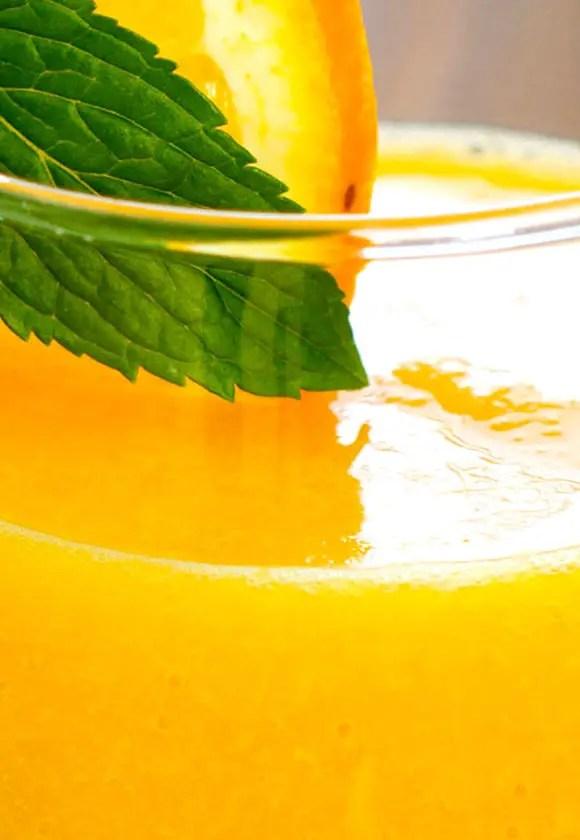 orange juice homemade