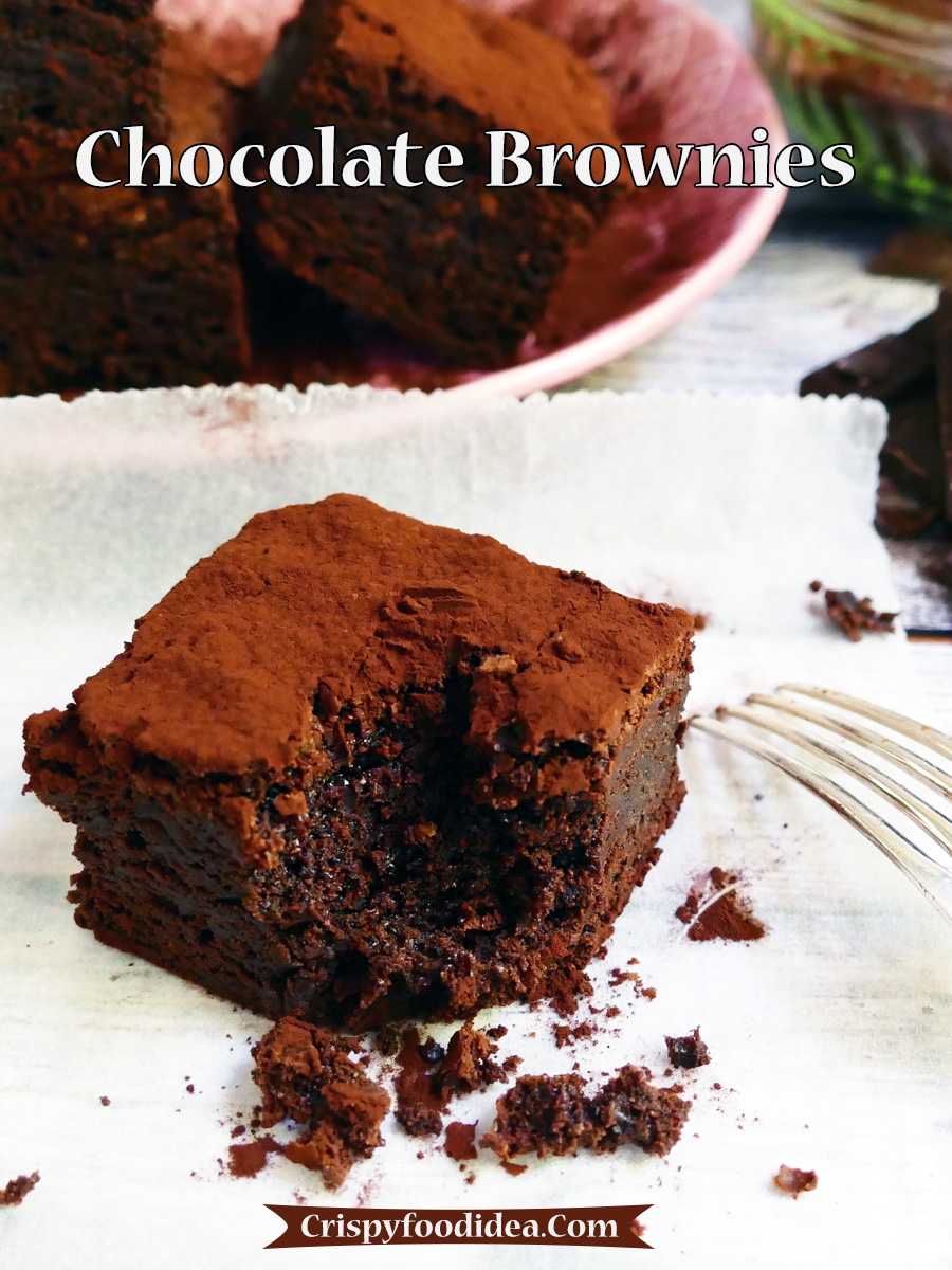 Easter Egg Chocolate Brownies Recipe