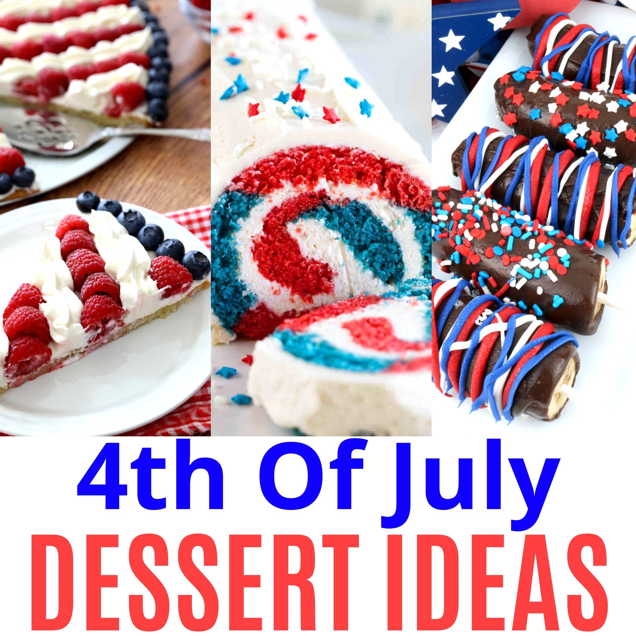 4th July Dessert Recipes