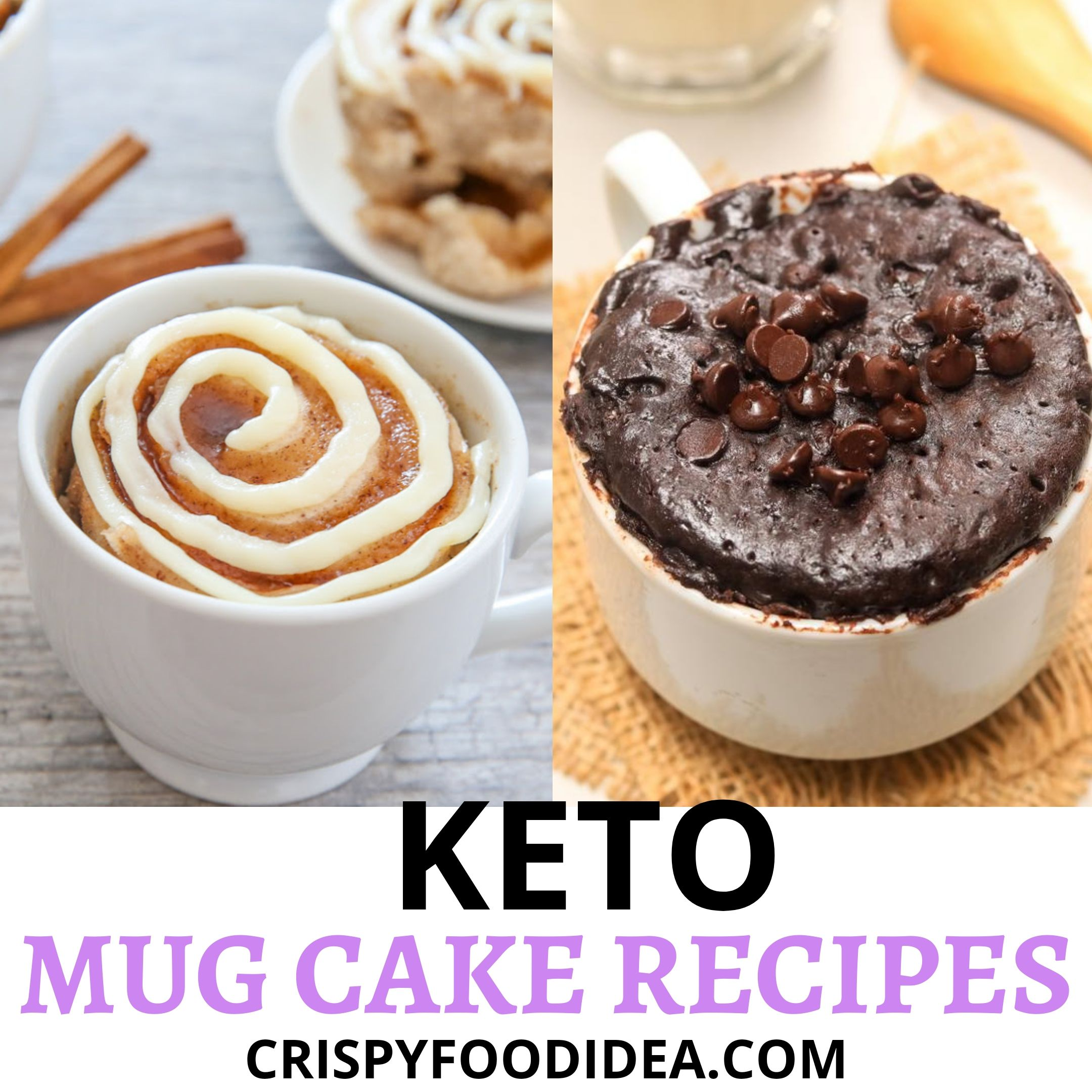 Keto Mug Cake Recipes