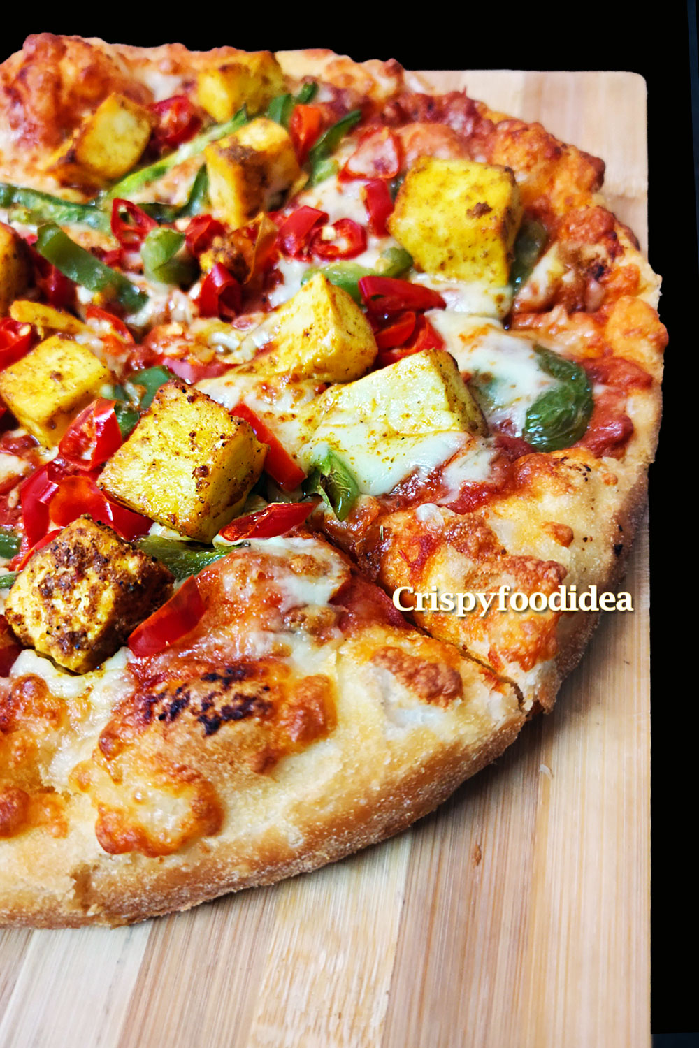 Paneer Pizza Recipe