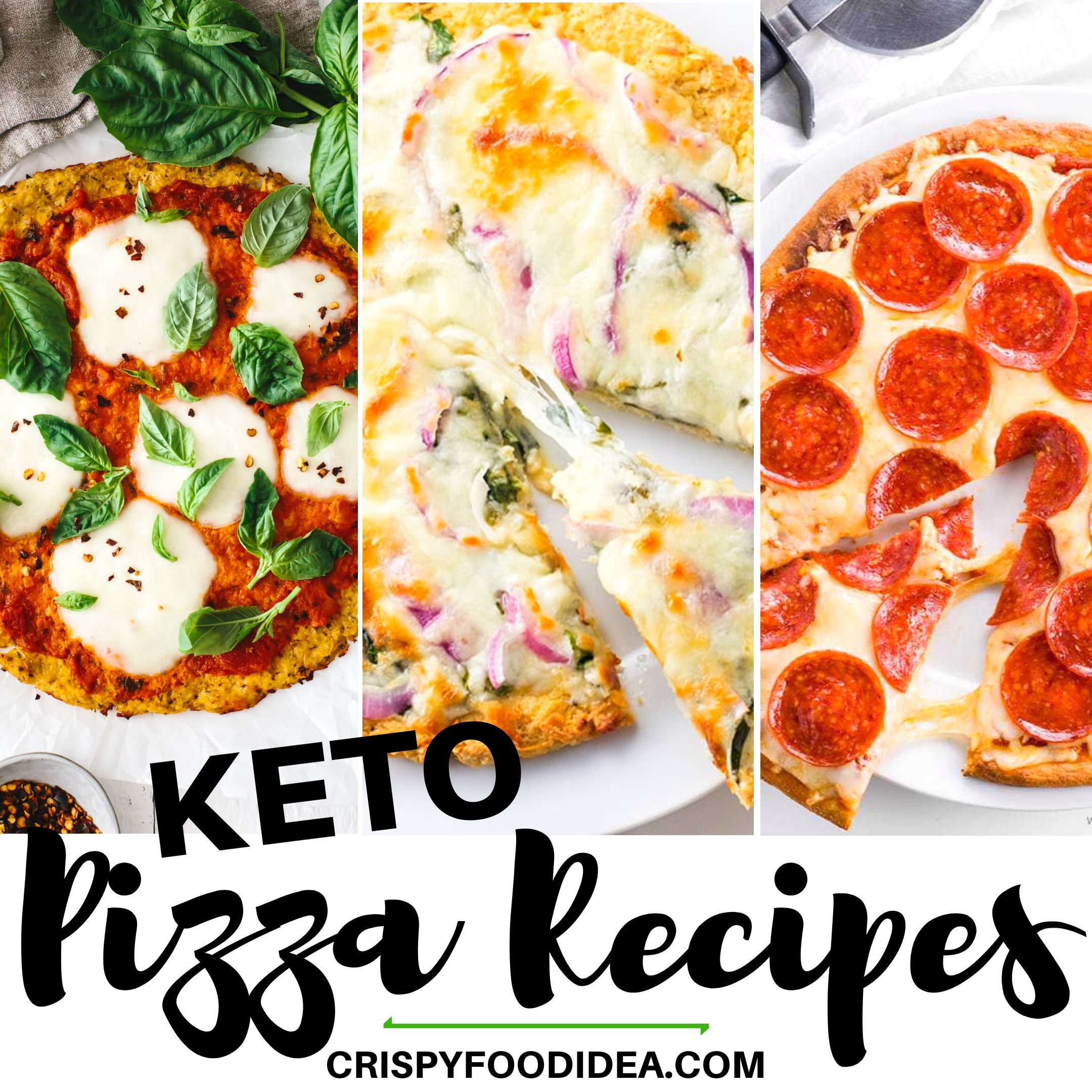Easy Keto Pizza Recipes