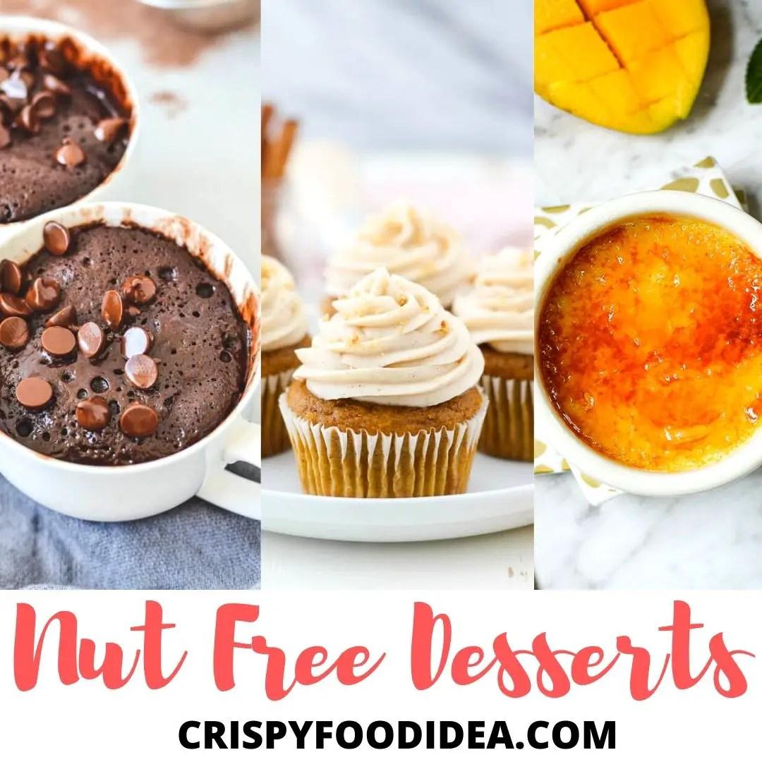 Nut Free Desserts