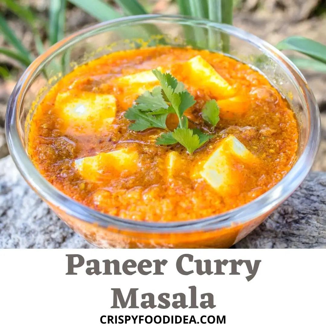 Paneer Curry Masala