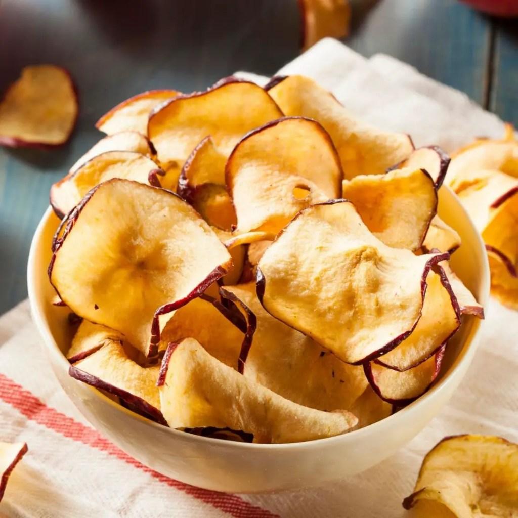 Apple Chips | Baked Apple Cinnamon Chips