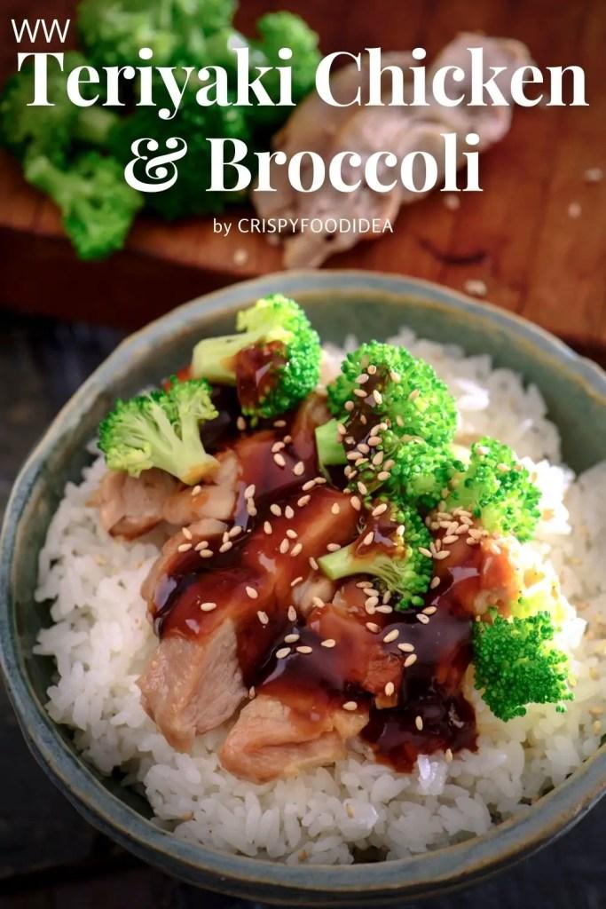 WW Teriyaki Chicken and Broccoli