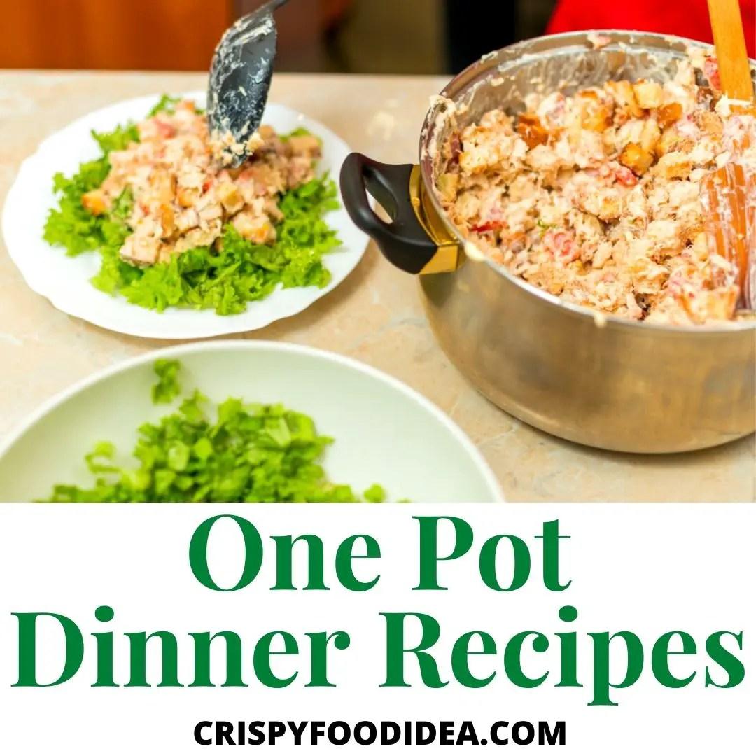 one pot dinner recipes