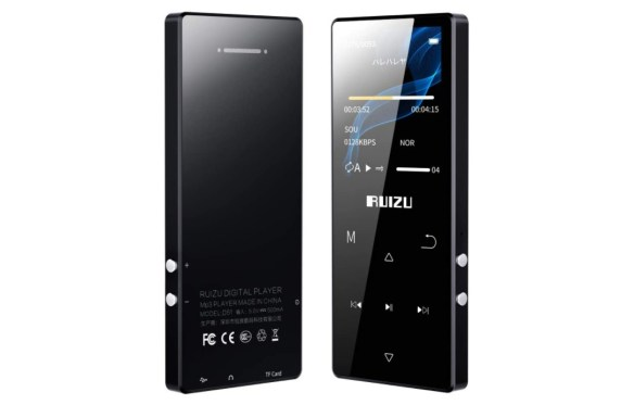 RUIZU D51 Stylish MP3 Player Review and Specs