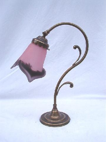 lampes art nouveau lampes en pate de
