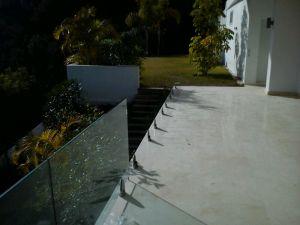Instalación barandilla de cristal Marbella 5