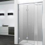 Mampara de ducha plegable bisagra en aluminio