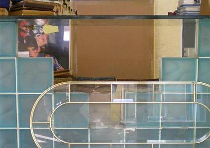 Trabajos de frentes y mesas de cristal