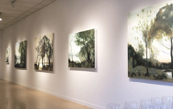 Christopher Friesen, contemporary art, landscape, painting, Vancouver, Elissa Cristall Gallery