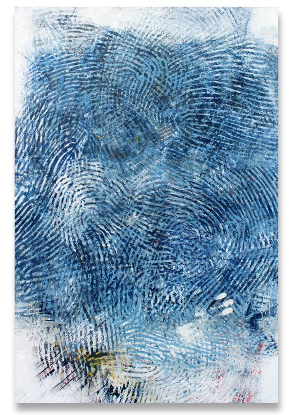 Randall Steeves, More Poetry, encaustic, modern art