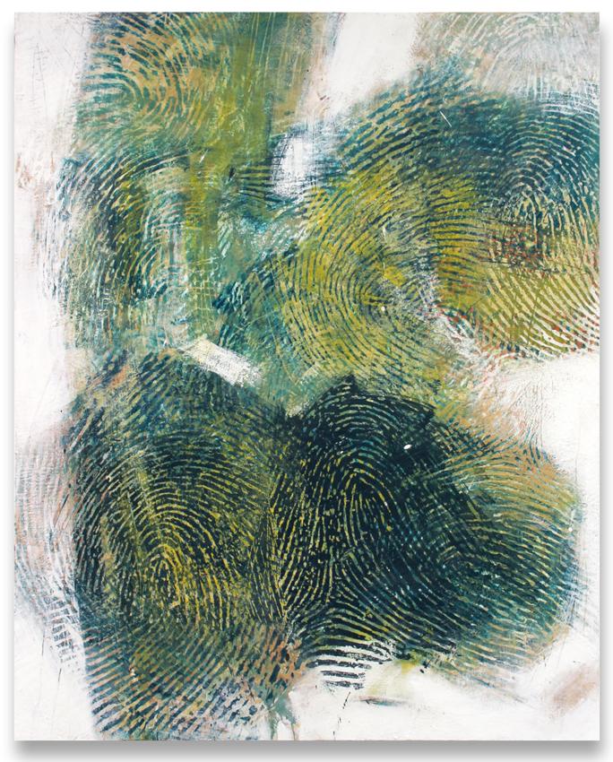 Randall Steeves, Palo Verde, encaustic on canvas, modern art