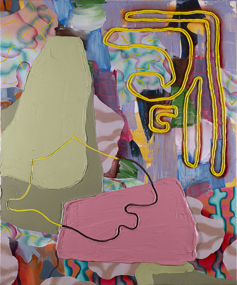 Wei Li, abstract painting, identity, contemporary painting, Vancouver, Elissa Cristall Gallery