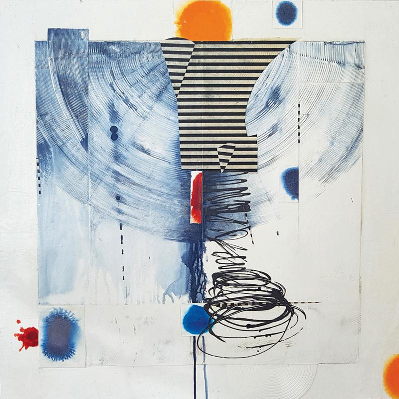 Camrose Ducote, abstract art, contemporary art, art exhibition, Vancouver, Elissa Cristall Gallery