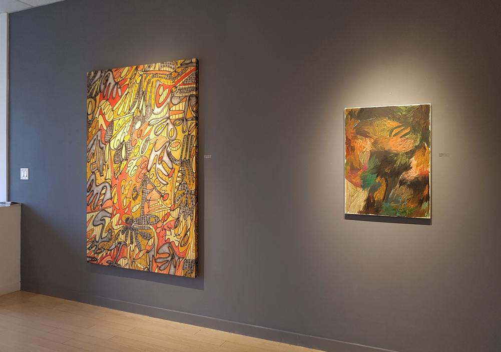 Brennan Stalford, Megan Hepburn, abstract, painting, contemporary art, gallery, Vancouver, Elissa Cristall Gallery