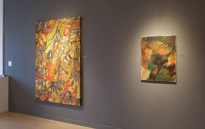 Brennan Stalford, Megan Hepburn, abstract, painting, contemporary art, gallery, Vancouver, Elissa Cristall Gallery