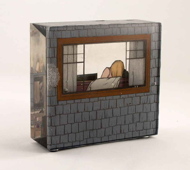 Jessica Korderas, Dystopia, cast resin sculpture, contemporary art, Elissa Cristall Gallery