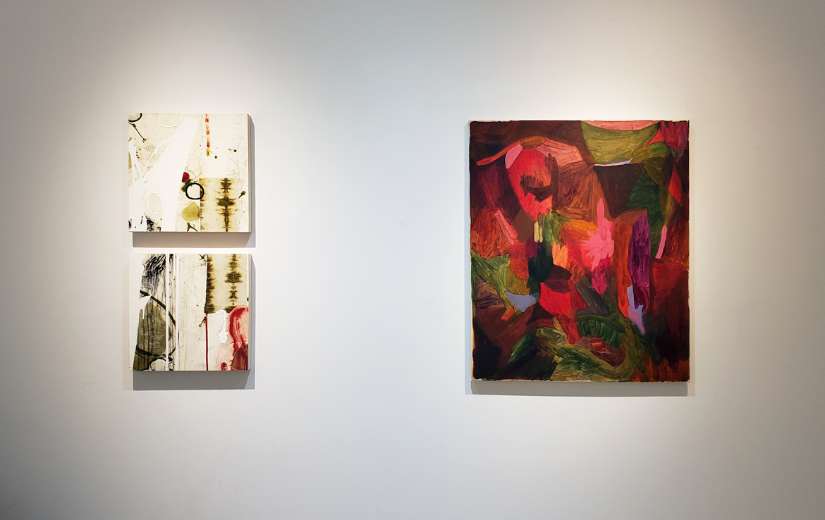 Art exhibition, abstract painting, contemporary art, Vancouver gallery, Elissa Cristall Gallery