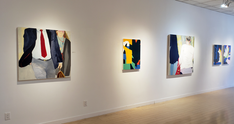 Contemporary art exhibition, installlation photo, Elissa Cristall Gallery, Vancouver art gallery