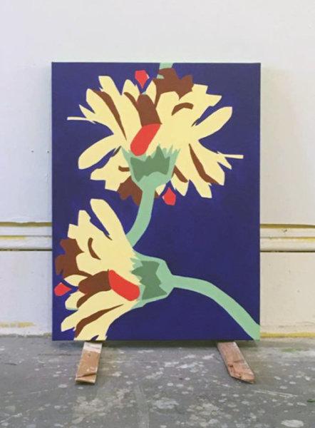 Todd Lambeth, Funland, acrylic on canvas, 24`x 18 inches
