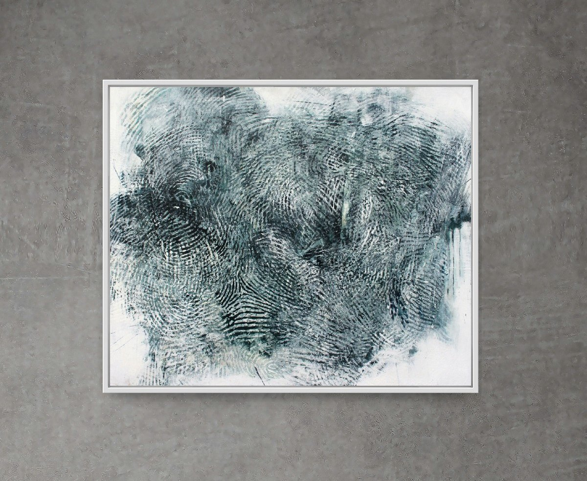 Randall Steeves, Distances, encaustic on canvas