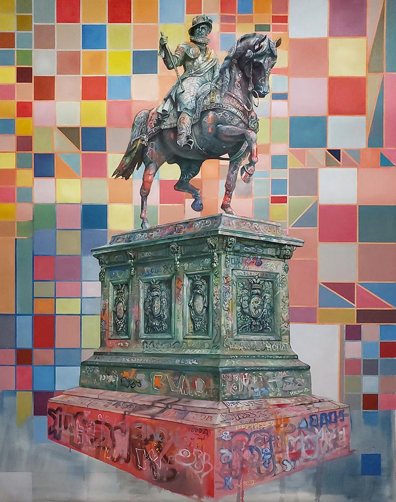 Jeroen-Witvliet-The-Silent-190x150-cm-oil-on-canvas-Elissa-Cristall-Gallery
