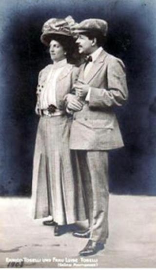 Enrico e Luisa Toselli
