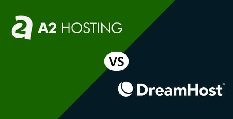 A2 Hosting vs Dreamhost Comparación 2020: ¿Cuál es mejor?