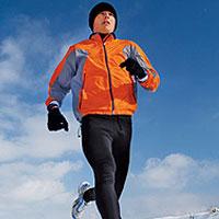 alergatul in frig