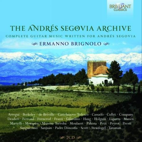 The Andrés Segovia Archive_CD