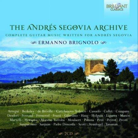 The Andrés Segovia Archive_CD