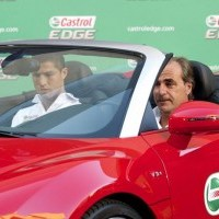 Cristiano Ronaldo Premier in Castrol Edge Tested to the Limit (7 September 2011)Pictures and Video