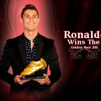 Cristiano Ronaldo Golden Boot 2011 - Wallpaper