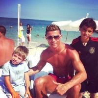 Cristiano Ronaldo Holidays in Greece After World Cup Exit