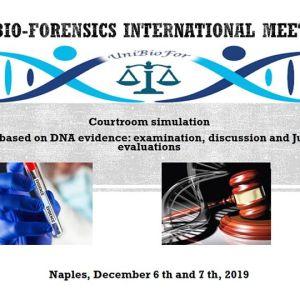 Partecipazione al First Bio-Forensics International Meeting