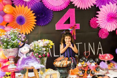 Valentina - Aniversário Infantil - 4 anos - Halloween - 069