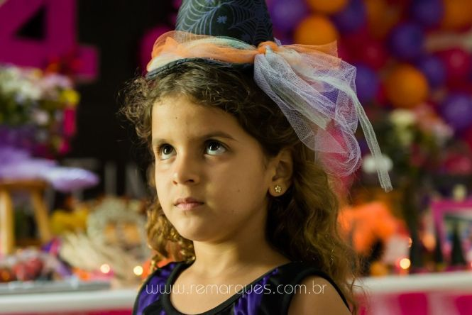 Valentina - Aniversário Infantil - 4 anos - Halloween - 047