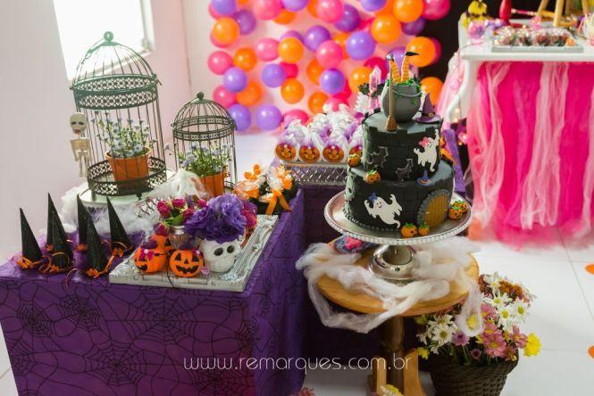 Valentina - Aniversário Infantil - 4 anos - Halloween - 020