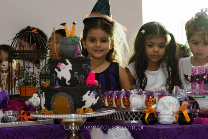 Valentina - Aniversário Infantil - 4 anos - Halloween - 034