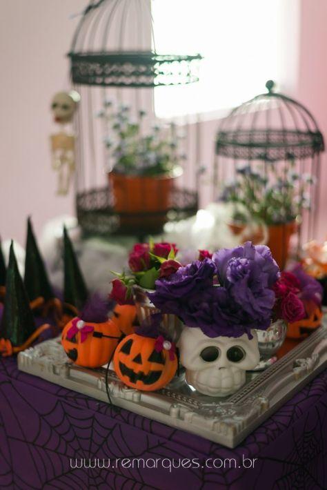 Valentina - Aniversário Infantil - 4 anos - Halloween - 004