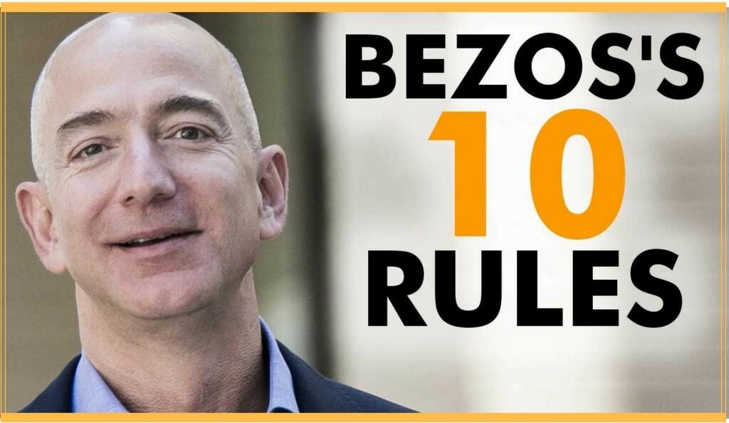 Jeff Bezos top 10 stres perseverenta inovatie disciplina