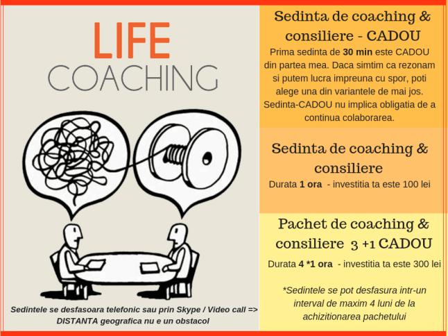coaching - terapie - consiliere - ghidare - viata noua - dorinte - obiectiv
