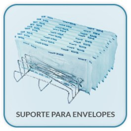 Suporte para envelopes