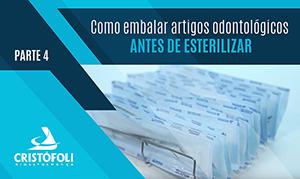 Como embalar artigos antes de esterilizar em autoclave