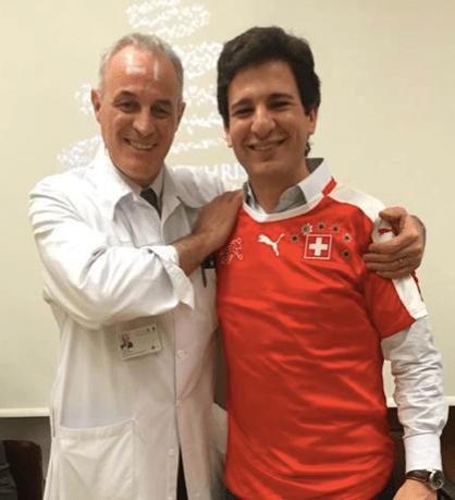 Didier Pittet e Fernando Belíssimo-Rodrigues