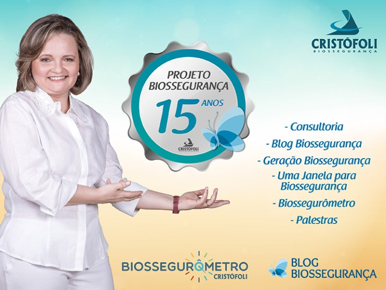 Projeto Biossegurança 15 anos